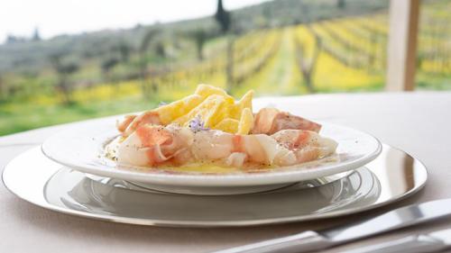Soppressa Veneta, Lardo della Lessinia e polenta croccante